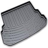 XIAOSHI Auto Alfombrillas Protectora Maletero Rear Trunk Boot Mats, para Mercedes GLK Coche Impermeable Antideslizantes Interiores Accesorios, Caucho
