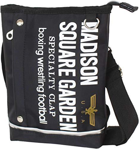マジソンバッグ 2WAY ミニショルダー シザーバッグ 432-055Y (ブラック:BK)