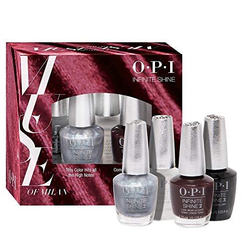 OPI Muse of Milan Collection Infinite Shine Nail Polish, Mini 4 Pack...