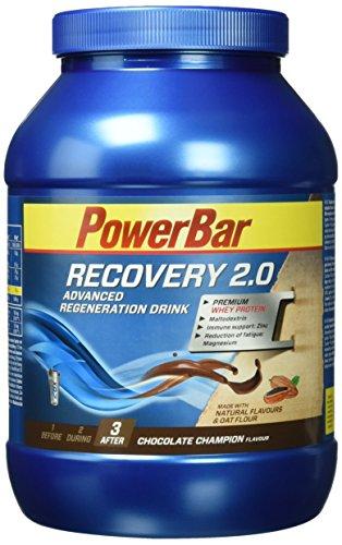 PowerBar Regeneration Drink mit Whey & Kohlenhydrate – Protein-Pulver mit Hafermehl, Vitamine, Zink und Magnesium – Chocolate Champion (1 x 1,144kg)