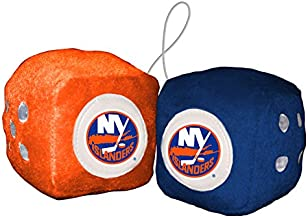 Fremont Die NHL New York Islanders BasicFuzzy Dice, Team Colors, One Size