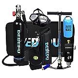 Mini Bombola da Sub kit snorkeling Con Borsa Impermeabile, Bombola da Ossigeno Portatile da 1L...