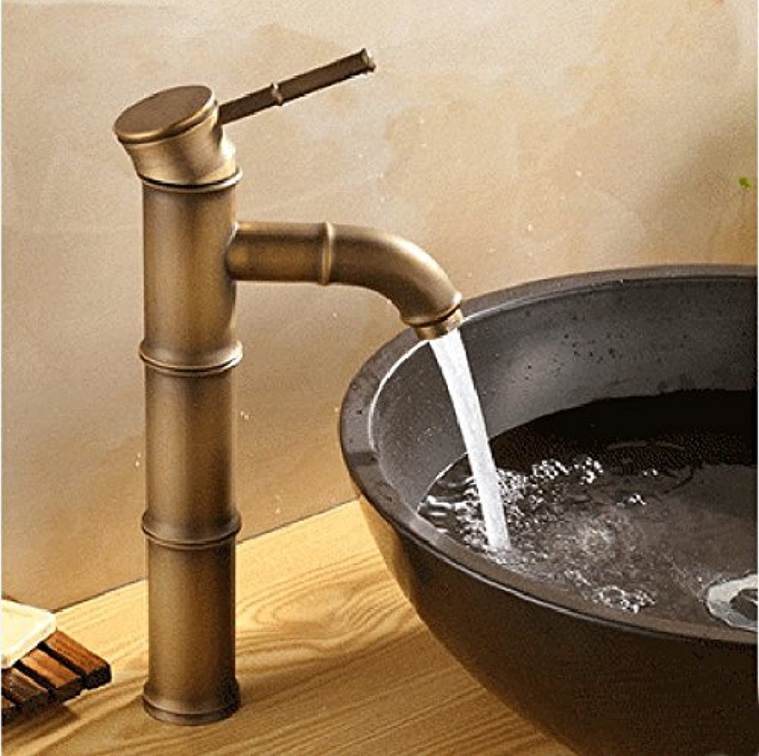 Hlluya Professional Sink Mixer Tap Kitchen Faucet, Hot and cold, a vanity area with sink and faucet