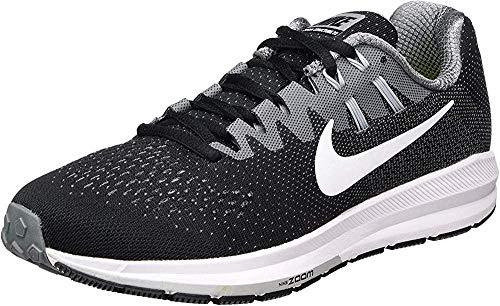 Nike Air Zoom Structure 20, Zapatillas de Trail Running para Hombre, Negro (Black/White/Cool Wolf Grey), 44.5 EU
