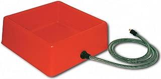 Farm Innovators Model D-19 1-1/4-Gallon Heated Water Bowl for Chickens, 60-Watt