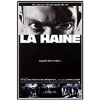 Suuyar La Haine1995クラシックヴィンテージ映画フィルムポスターとプリントウォールアートプリントキャンバスにリビングルームホームベッドルーム-20X30インチX1フレームレス