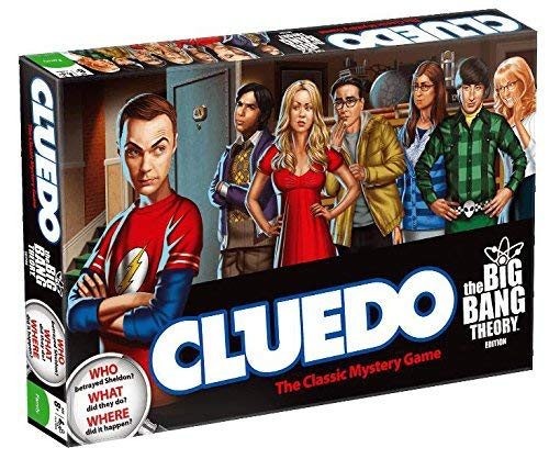 Big Bang Theory Cluedo The