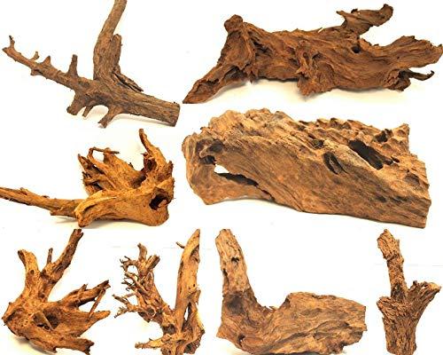 Wohnkult Mangrovenwurzel XL 45-60 cm Deko Aquarium Wurzel Holz Mangrove