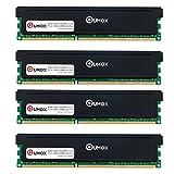 QUMOX 32GB (4x 8GB) DDR3 1600 PC3-12800 PC-12800 (240 PIN) XMP CL9 DIMM Memoria Desktop