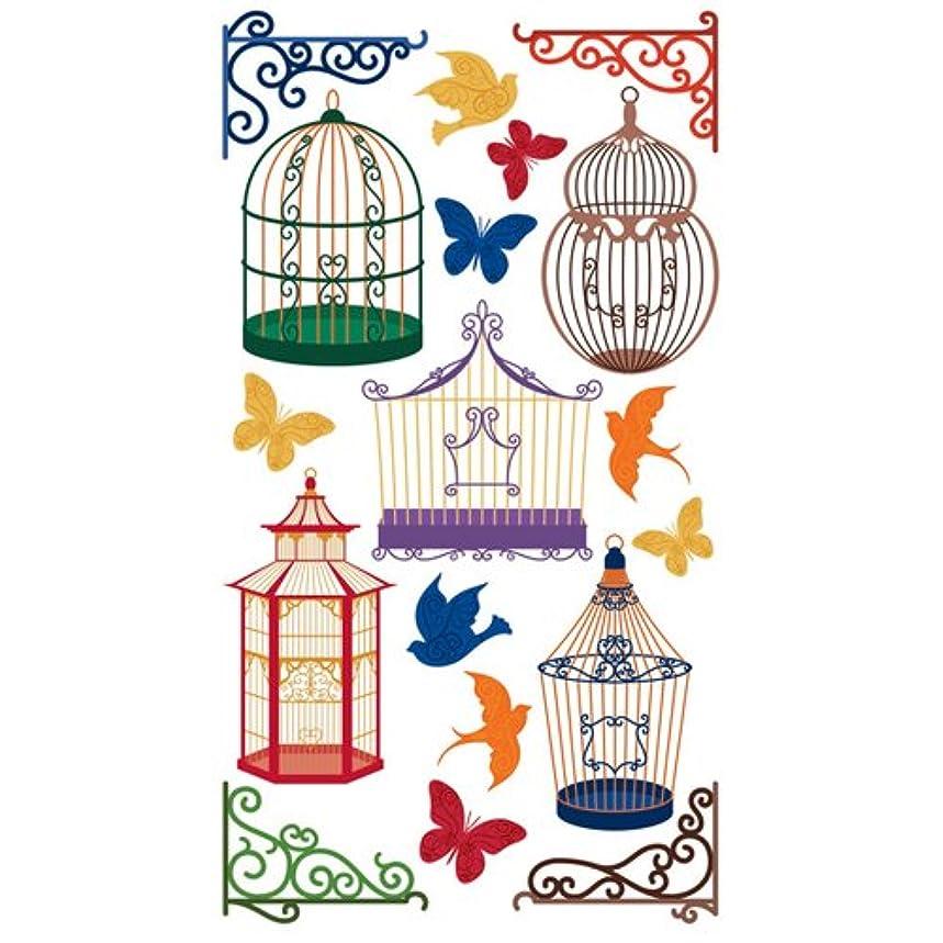 Sticko EK Success Bird Cages Stickers