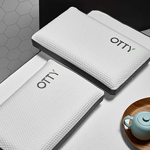 OTTY Deluxe Blue Memory Foam Pillow