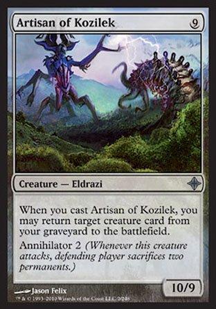 Magic: the Gathering - Artisan of Kozilek - Rise of The Eldrazi - Foil