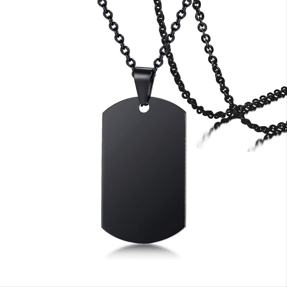 Naswi to My Husband I Now on sale Love You Men Ranking TOP3 Pendant Dog Tag Necklace for