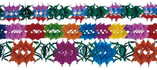 RiethmÃ1/4ller 1021 - 3 Blumengirlanden, 12 - 17 cm x 4 m