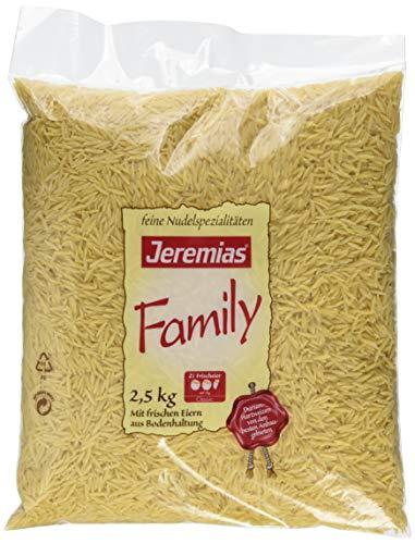 Jeremias Nudelreis, Family Frischei-Nudeln, 1er Pack (1 x 2.5 kg Beutel)