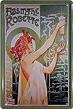 """Blechschilder Alkohol Motiv: """"Absinthe ROBETTE"""" –"""