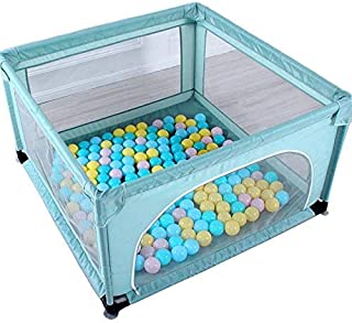 GWFVA Baby Fence Protective mats Children mats Cribs Park interior equipment Interior safety the house Crash-proof play area for children with dual use Oxford door fabric Robust and reliable