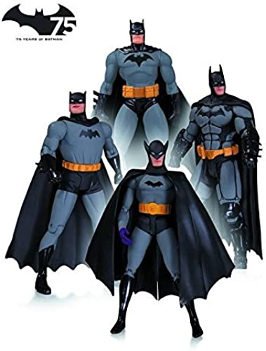 DC Collectibles Batman 75th Anniversary Action Figure Set 1 by DC Collectibles