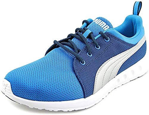 PUMA Men's Carson Runner-M, Methyl Blue Silver, 8 M US
