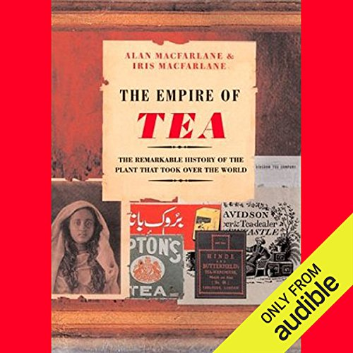 The Empire of Tea audiobook cover art