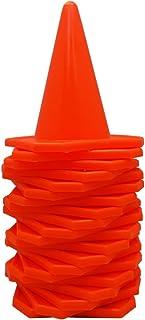 "BlueDot Trading 4"" RC Racing Agility Cones, Orange – Set of 20"