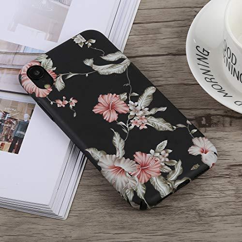 CHANYO Caso para el iPhone Teléfono XR Caja Protectora de la PC Caja del teléfono móvil Luminosa Gloria de mañana del patrón for el iPhone XR