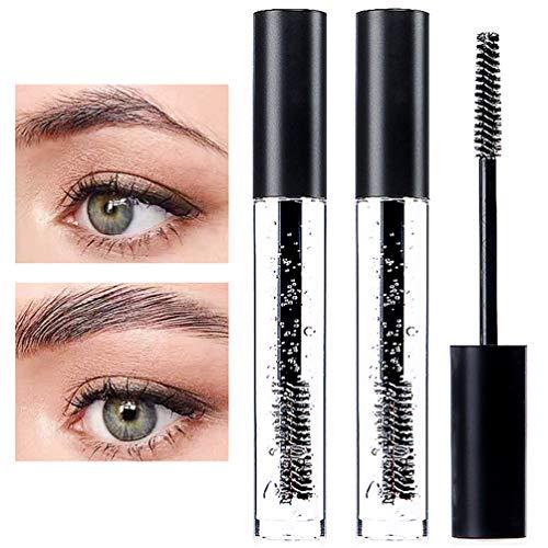 DAGEDA Clear Eyebrow Setting Gel, 2 Pack Brow Fix Gel, Waterproof And Sweat-Proof Eyebrow Repair Liquid Brows Styling Beauty Salon Home Use Makeup, 1.81oz