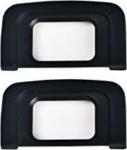(2 Pack) VKO Eyepiece / Eyecup DK25 Replacement for Nikon D5600 D5500 D3500 D3400 D3300 D3200 D3100 D3000 D5300 D5200 D5100 D5000 DSLR Camera Viewfinder