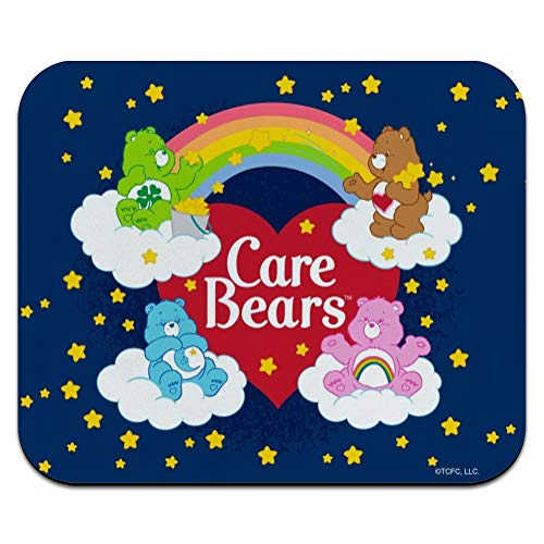 Care Bears Classic Logo Group Low Profile Thin Mouse Pad Mousepad