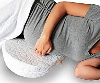 JILL&JOEY Pregnancy Pillow Wedge for Maternity, Belly & Back Support When Pregnant