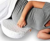 Jill & Joey Pregnancy Pillow Wedge for Maternity - Belly & Back...
