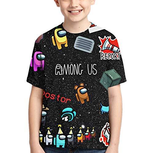 Camiseta Among Us Camiseta Niños Among Us Impostor Character Colors Camiseta Niños Niñas Camiseta...