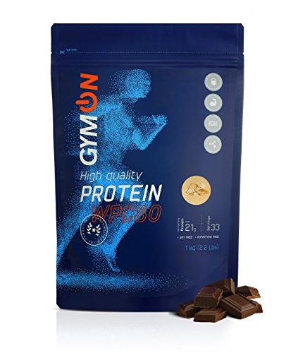 GYMON Whey Protein Shake. Concentrado de proteína de suero de leche, 33 porciones 1000g (Chocolate) ✅