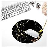 WBHUBIN Alfombrilla de Ratón Máquina Redonda Mouse Pad Organizador Antideslizante Gaming Mouse Pad Escritorio Decoración para el hogar Laptop Mouse Mat Office Desk Desk Acessories Set (Color : E)
