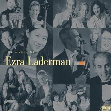 Music of Ezra Laderman, Vol. 1-9