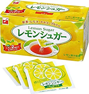 スプーン印 レモンシュガー 10g×20袋入 (10箱セット) レモン風味 砂糖 [レモネード / 紅茶 / お菓子作り] 水分補給 (1袋にレモン2個分のビタミンC) 個包装 大容量