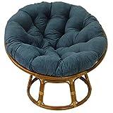 International Caravan Rattan Papasan Chair with Cushion