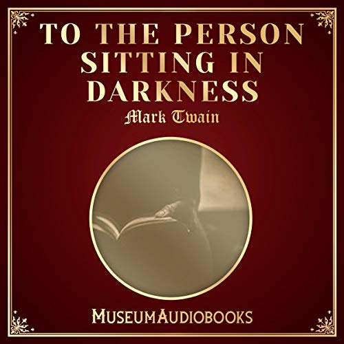 To the Person Sitting in Darkness cover art
