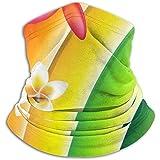 Linger In Bufanda para el Cuello Fantástico Fondo Colorido con Flores Pasamontañas Máscara de esquí Más cálido Invierno Abrigo para la Cabeza