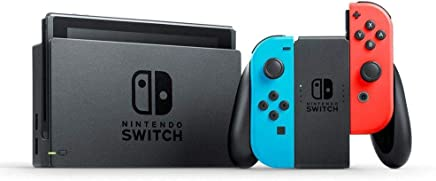 Nintendo Switch with Neon Blue and Neon Red Joy Con  32GB, NTSC