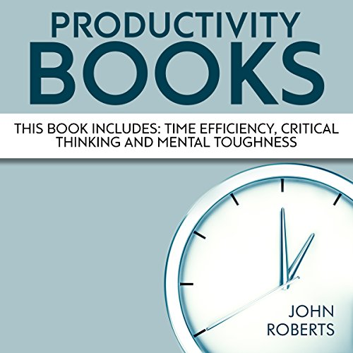 Productivity Books: 3 Book Bundle audiobook cover art