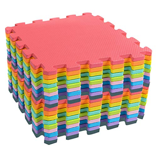 Fine Kids Play Mat,Foam Mats Toy Ideal Gift, Colorful Tiles...