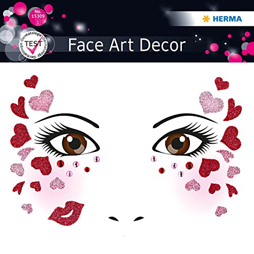 Stickers Face type Love Herma 15309 4008705153096