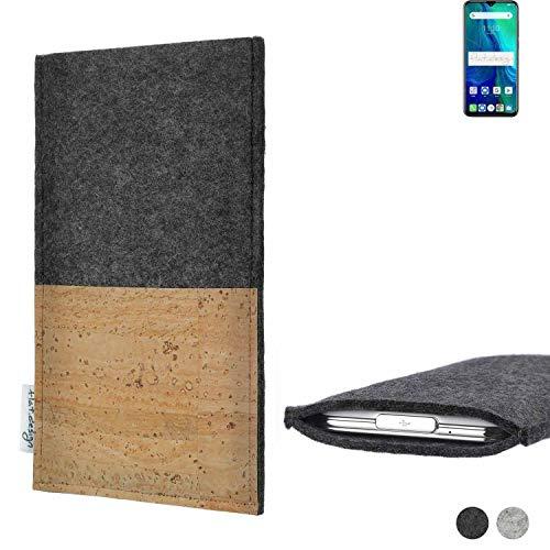 flat.design Handy Tasche Evora für Ulefone Power 6 Kartenfach Kork Schutz Hülle passexakt handgefertigt fair