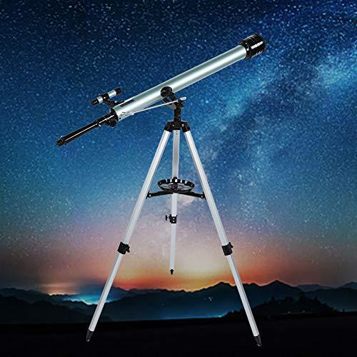 GOTOTOP - Telescopio astronómico (Distancia Focal de 900 mm, Apertura Libre de 60 mm, para Principiantes, Aumento de 67,5 a 135 aumentos)