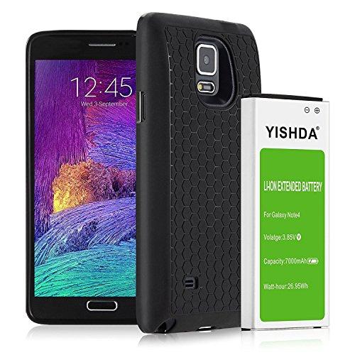 YISHDA Galaxy Note 4 Battery, 7000mAh Replacement Samsung...