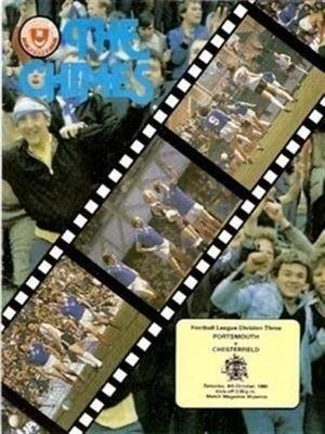 Portsmouth Chesterfield 04/10/80 old football programme
