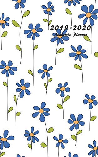 2019-2020 Academic Planner: Small Weekly and Monthly Planner with Floral Cover, Volume 3 (July 2019 - June 2020)