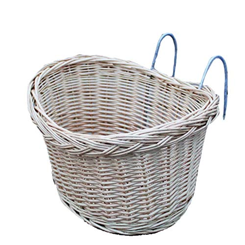 Why Choose DEPRQ Bicycle Basket Bike Basket Natural Wicker Junior Bicycle Front Basket Shopping Bag ...