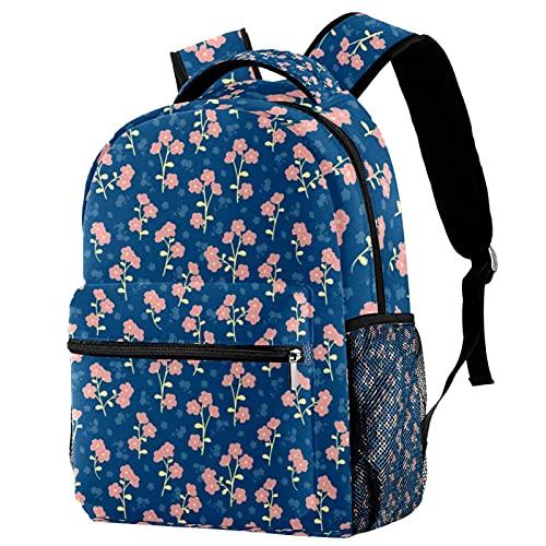 Mochila escolar para los estudiantes de la escuela junior, modelo inconsútil de las llamas de la mochila del viaje para hombre, Multicolor 08,